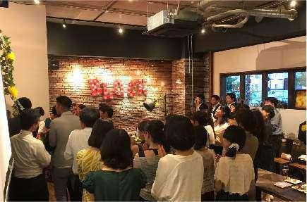 BLOCK~st133~の結婚式2次会の様子